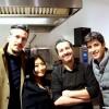 Andrea Sala e Andrea Pesce con ospiti giapponesi