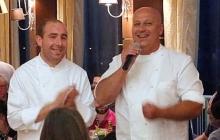 32 - Lo chef Cristiano Gramegna, Ristorante Rosso di Sera