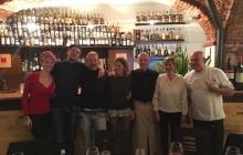 01 - Chef, maitre, produttori e Andrea Sala a fine serata