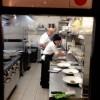 10 - Lo chef Cristiano Gramegna ai fornelli