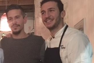 01 - Andrea Sala con lo chef Salvatore Giugliano