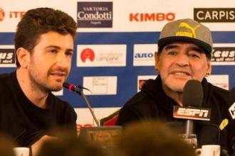 07 - L'attore Alessandro Siani promotore dell'evento e grande amico di Maradona