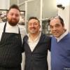 10 - Vincenzo Manicone (Cannavacciuolo Bistrot) Claudio Sacco e Ettore Bocchia (Villa Serbelloni, Bellagio)