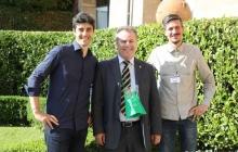 18 - Gli organizzatori con il sindaco di Lecco Virginio Brivio