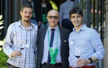 26 - Andrea Sala e Andrea Pesce con il presidente della provincia di Lecco Flavio Polano