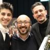 27 -  Andrea Pesce e Andrea Sala con il produttore Barraco