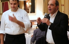 30 - Lo chef Ettore Bocchia, Villa Serbelloni, presenta il suo pasticciere Manuel Ferrari