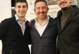 02 - Claudio Sacco con gli organizzatori