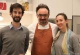 33 - Lo chef Lopriore con i fratelli Beccalli (Macelleria di Costamasnaga)